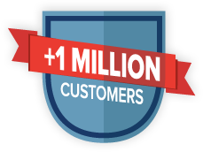 +1 Milliopn Customers